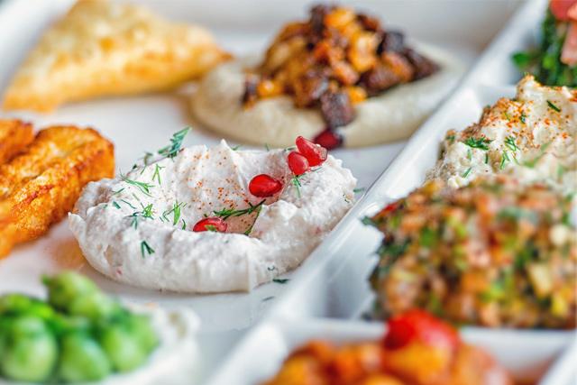Orientalischkochen_vorspeisen in Wentorf bei Hamburg