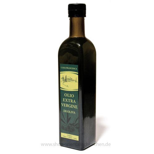 CASA FRANCESCA Olivenöl für Rohkostliebhaber extra nativ 500ml