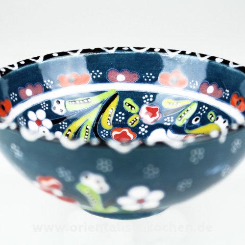keramikschale_iznik-design_gruenblau_125 in wentorf