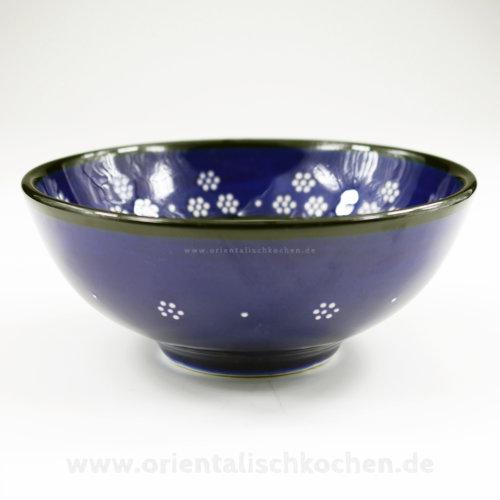keramikschale_iznik-design_marineblau_125 orientalischkochen