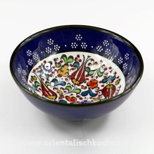 keramikschale_iznik-design_marineblau_125-a in Wentorf