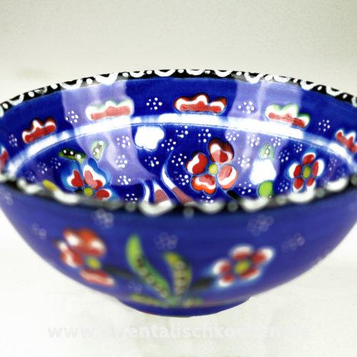 keramikschale_iznik-design_blau_125 in Wentorf