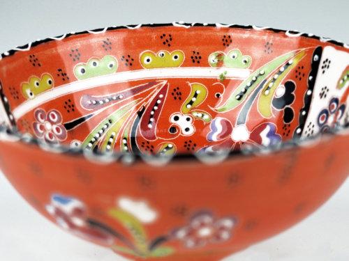 keramikschale_iznik-design_orange_125 in wentorf