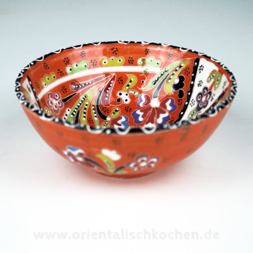 keramikschale_iznik-design_orange_125a in wentorf