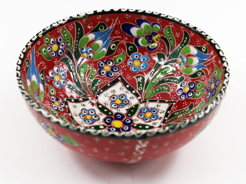 keramikschale rot orientalischkochen