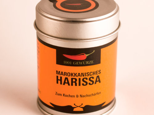 Gewürz Marokkanisches Harissa 27g zum Kochen und Nachschärfen