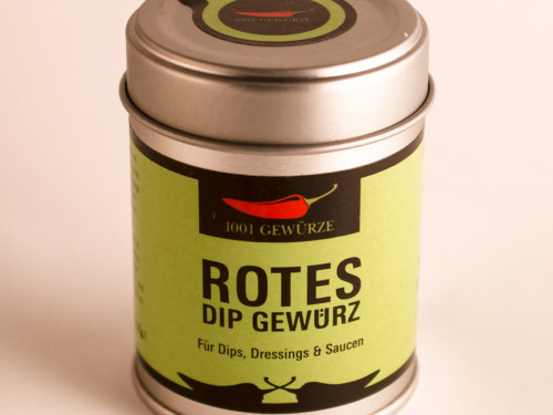 Rotes Dip Gewürz 23g zum Kochen und Nachschärfen bei Dilek´s Kochschule in 21465 Wentorf