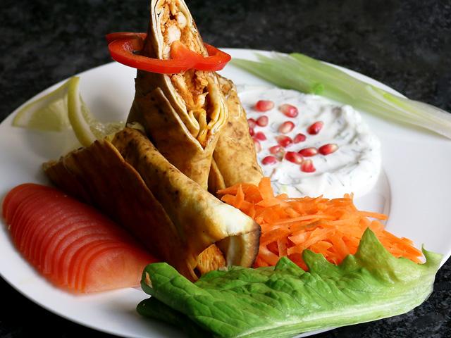 Mittagsmenü Schawarma