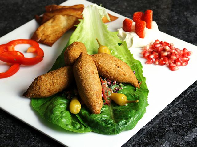 Mittagsmenü Kibbeh
