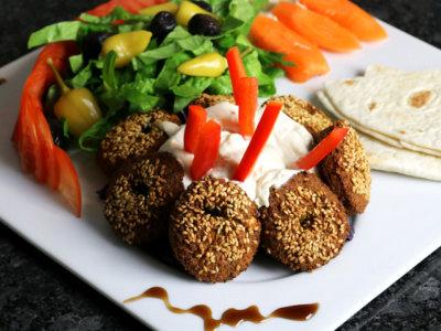 Mittagsmenü Falafel