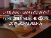 Feine orientalische Küche abends bei Dilek´s Kochschule in Wentorf